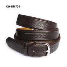 Custom Printed Leather Belts
