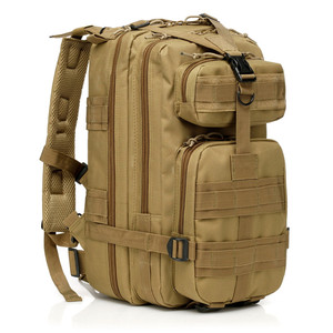 Outdoor Hiking Military Tactical Assault Level 3P Backpack Bag