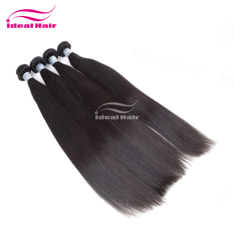 Ideal Best Quality colored three tone hair weave