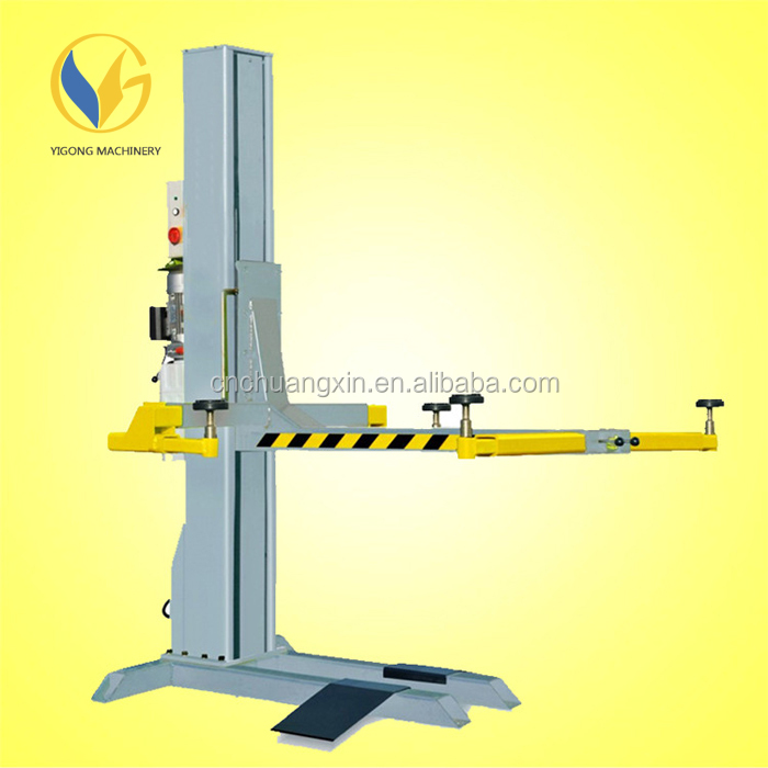 Mobile Car Lift Single One Post Car Lift With 2500kg Capacity Buy