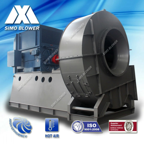 Industrial centrifugal suction fan blower for plant