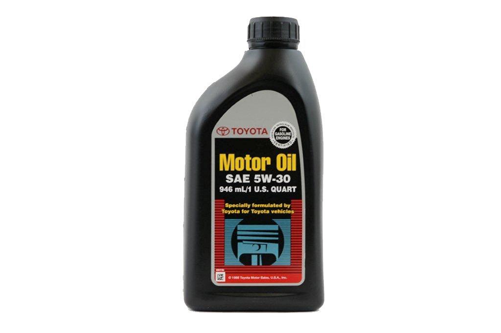 Toyota Genuine Fluid 00279-1QT5W 10W-30 Motor Oil(Case of 12) - 1 Quart Bottle