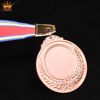 Custom shaped blank zinc alloy prize medals athletics championship medal