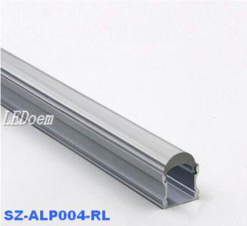 Anodized led aluminum profile for strip light