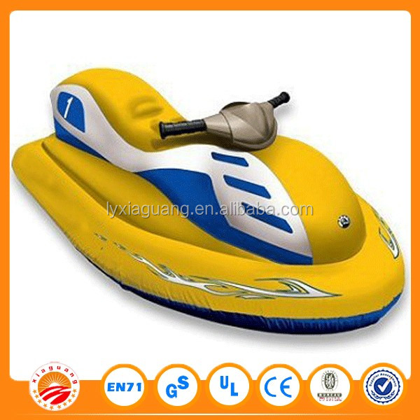 Inflatable battery powered jet ski - Country club of newberry