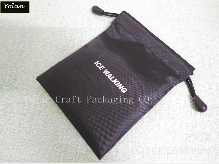 Custom Jewelry Satin Bag in Packaging bag