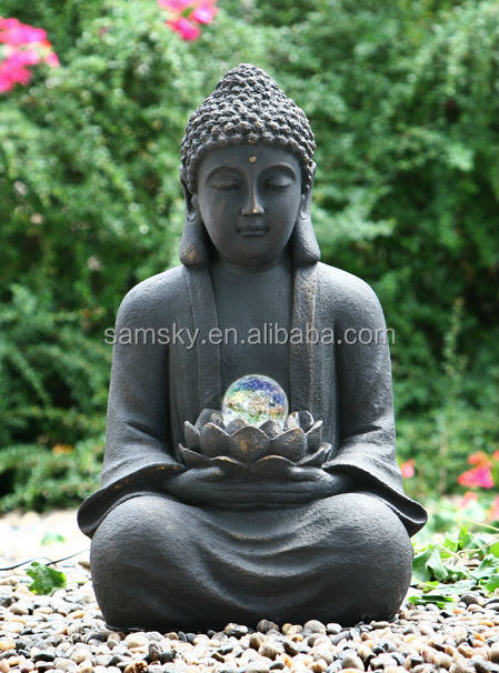Beautiful Resin Large Buddha Garden Statue