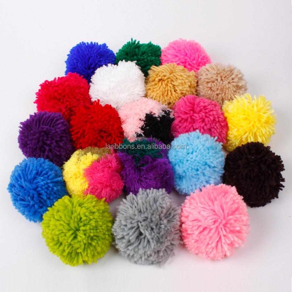 Venta al por mayor manualidades de lana pomponesCompre online los