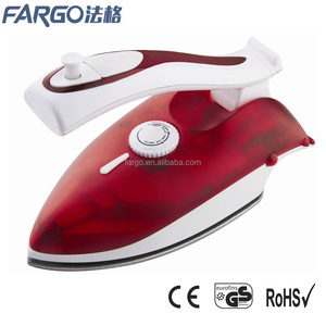 PL-368 dual voltage mini size foldable handle travel iron with vertical steam