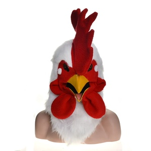 Cock moving mouth mask with mover mouth mask wholesale design OEM ODM manufacture factory party Halloween outdoor holiday