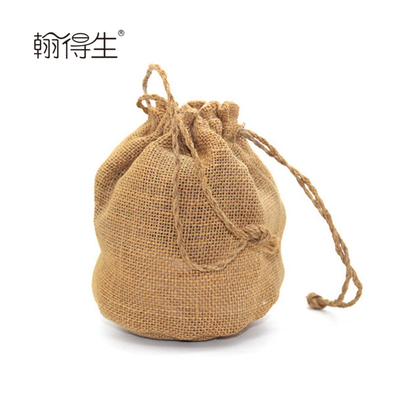 wholesale single string drawstring paper packaging toilet bags