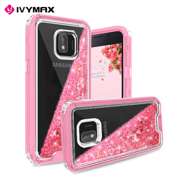 Pc With Tpu Perfect Combination Quicksand Case Cover For Samsung Galaxy J2 Core Cover Custom Design