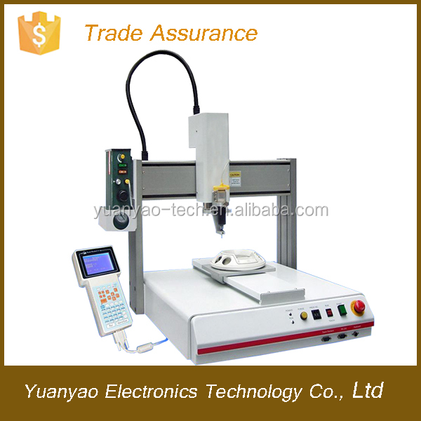 Specialized controller for automatic epoxy potting machine