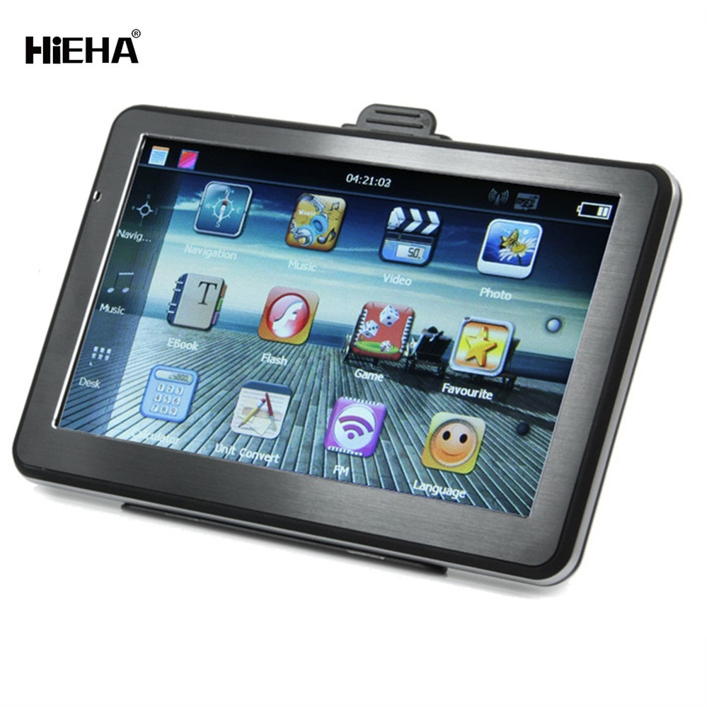High Quality Hieha Portable 16G 7 Inch Touch Screen Android TFT-LCD for Audi A6 GPS Car Navigation