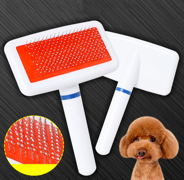 Cheap wholesale Dogs Grooming and Cleaning Hair Brush, Pet Cat Stainless Steel Flea Comb
