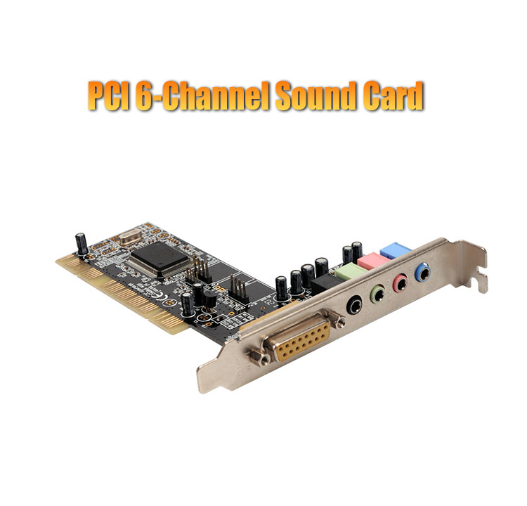PCI 6-Channel Sound Card