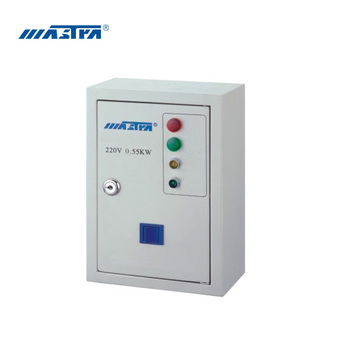 electrical control box for submersible motor