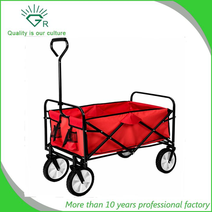 Heavy Duty kids Garden wagon folding hand Cart