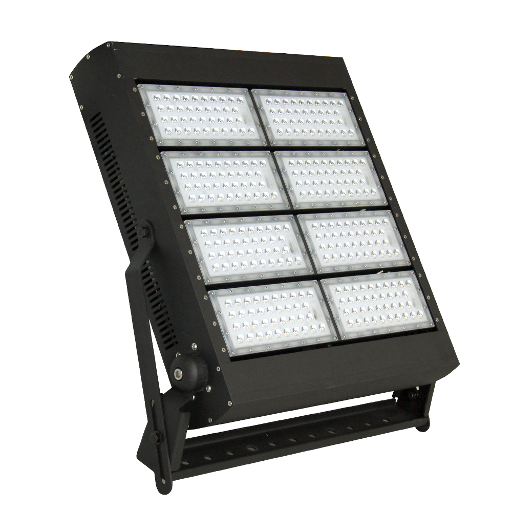 ETL impermeable IP67 LED mástil alto luz 200W 400W 600W 800W 1000W 1200W estadio reflector LED