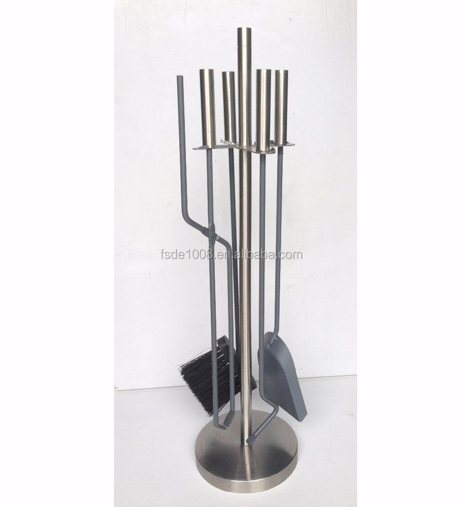 contemporary fireplace tool set minimalist black iron fireplace