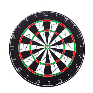USA Stock Outdoor Game 18-inch Champion Tournament Dartboard Double-sided Flocking Dart Board