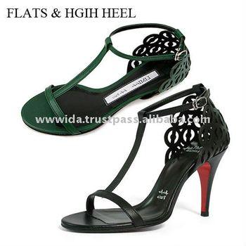 d3a868f057d Sexy   Chic T-Strap Sanals Flats Sandals Hgih Heel Sandals Small Shoes sexy  high