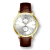Top brand OEM wrist watches with genuine leather