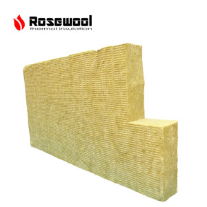 high strength rock wool board heat oven insulation rock wool blanket material