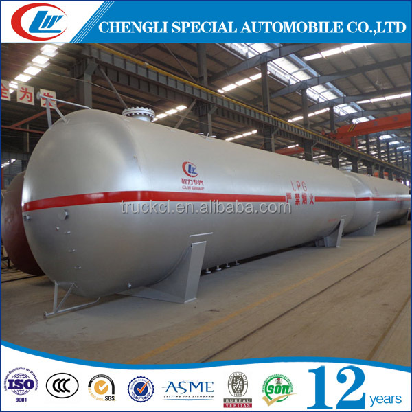 Manufacturing Station Use Spherical Replace tank Sales 100CBM 100 ton propane gas vessel for hot sale
