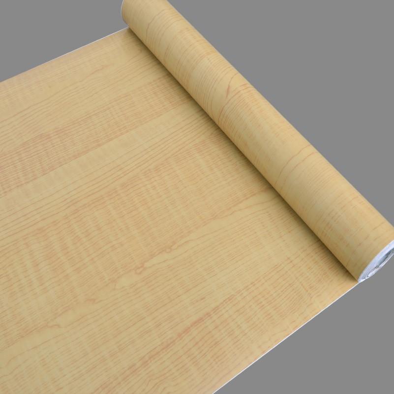 Per la casa decorazione di legno foglio di pvc adesivo for Carta da parati in pvc