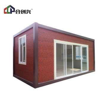 Factory direct price foldable prefabricated expandable 40ft modular container house