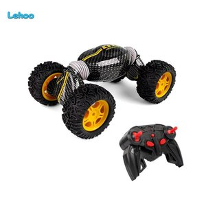 cheap crazy amphibious 2.4G double sided rc stunt car 360 degree rolling rock and climbing cars best toys for kids