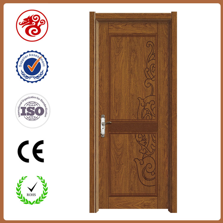 2017 New Interior Mdf Pvc Wooden Single Main Door Design For Hotel ...