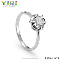 fashion value 925 silver engagement wedding ring 325 set for women