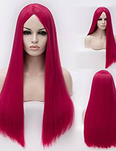 Wigs have an attractive convenience fashion European And American High-Temperature Silk Long Straight Hair wig Fashion Girl Necessary