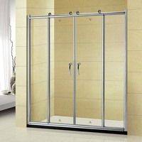 china supplier new design aluminum cabin glass shower room