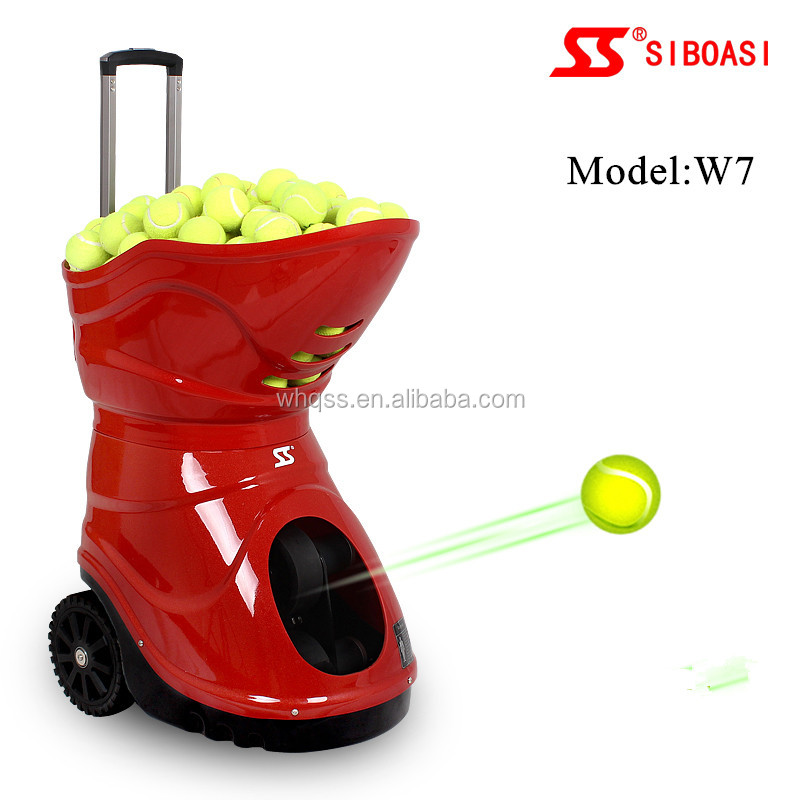 New Tennis Ball Machine Tennis Lanucher Tennis Pitching/Throwing/Training Machine W7