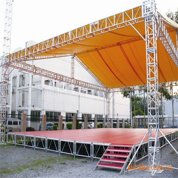 diy portable stage small stage lighting truss. event stage spigot small lighting truss diy portable