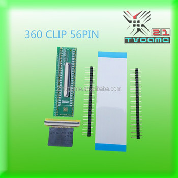 For PS3 360Clip 56pin Universal TSOP NOR FLASH CHIP Tool 360 clip tsop nand flasher for ps3