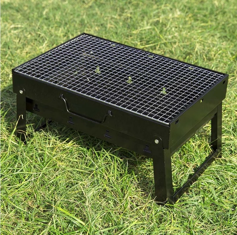 Chinese Portable Folding Charcoal Korean BBQ Grill Table for Outdoor Camping for sale