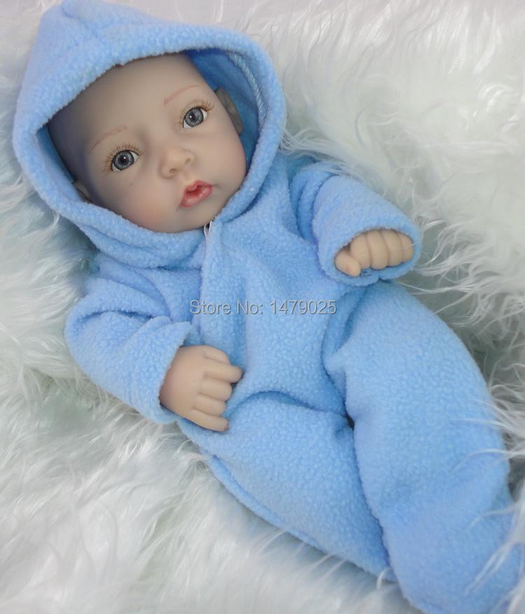 2016 New Arrival Free Ship10 Inch Mini Newborn Baby Doll Realistic
