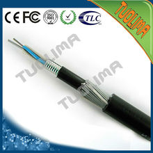 Tuolima outdoor GYTA 48 core singlemode fiber optic cable