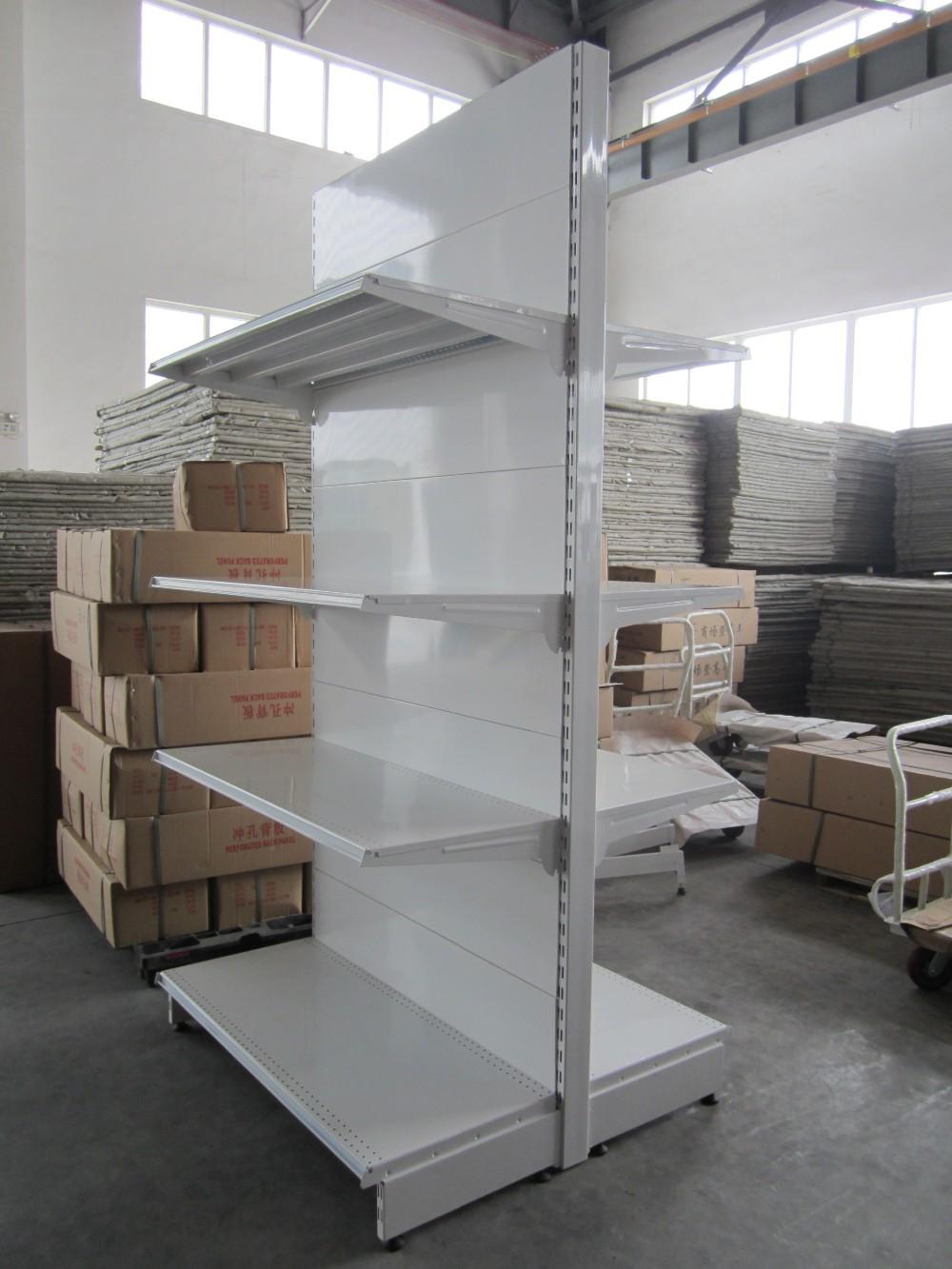 Scaffali A Gondola Usati.Commerciale Supermercato Gondola Scaffalature Per La Visualizzazione
