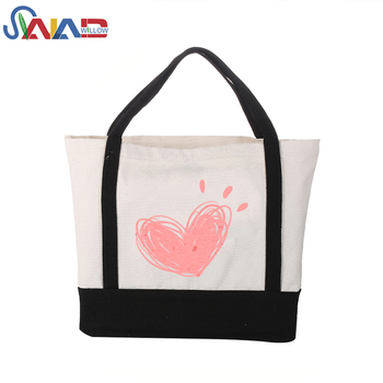 2018 Marketing gift items promotion shopping christmas cotton canvas tote bag