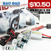 Xenon HID kits with DC slim HID ballast 12V 35W and bulbs H1 H4 H7 9005 9006 9007