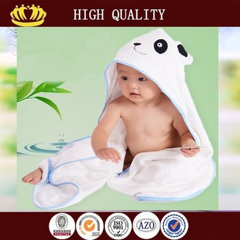 high quality 100% bamboo baby towel fabric