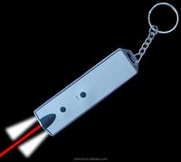 Laser Pointer And Led Flashlight Keychain Flat Led Card Light ...