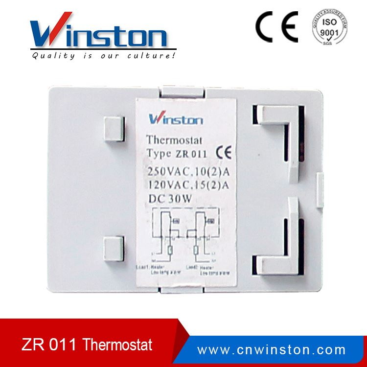 High quality 12v thermostat controlled heater Dual Thermostat ZR 011
