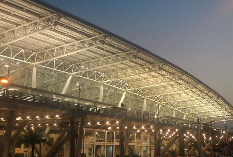 Economical Long Span Steel Roof Truss Design Airport