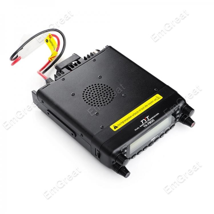 Tyt TH-7800 TH7800 любительское автомобиль мобильный радио snap-приемопередатчик 134 - 174 мГц 50 W выход электропитание DTMF 8 групп скремблер + микрофон